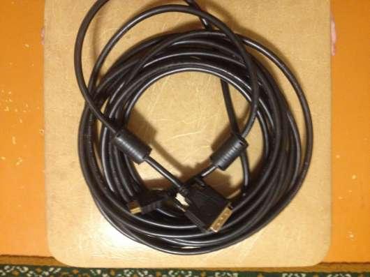 Кабель DVI - HDMI 7 метров