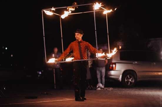 Огненное шоу Барнаул творческая группа АльтШоу фаер шоу Фото 5
