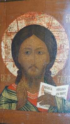 Икона Спас с предстоящими, Россия, XVII