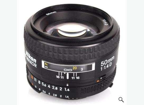 nikkor 50 mm f/1,4 D
