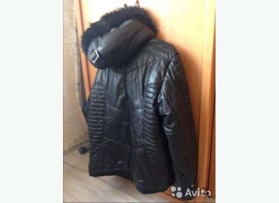 Куртка зимняя кожанная MONDIAL