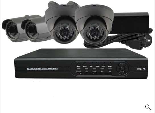 Видео-наблюдение, пожарная и охранные сигнализации