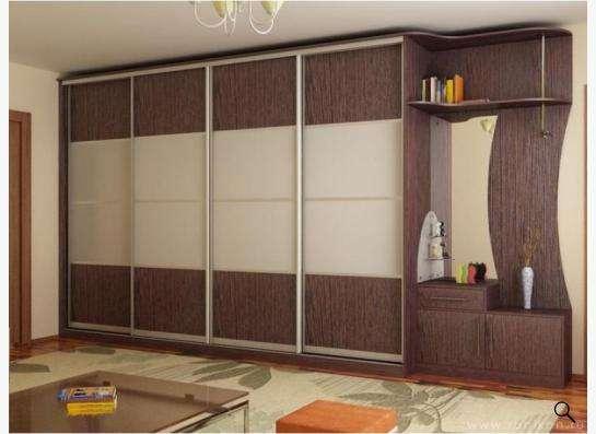 Встроенные шкафы-купе 10 500 руб. за погонный метр