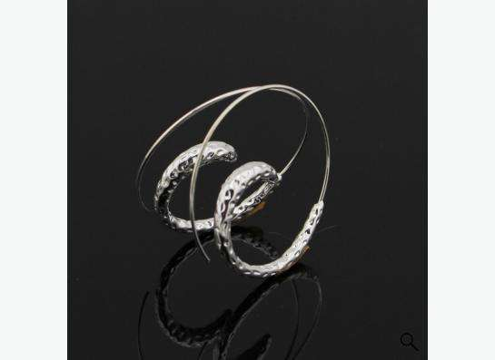 серьги-кольца-спирали