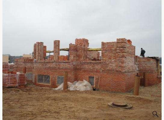 Строительство загородного дома из кирпича под ключ в Москве Фото 2