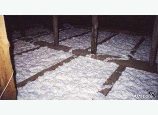 Утепление - пеноизол, эковата в Казани Фото 1