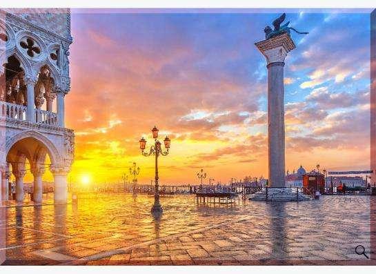 "Картина на холсте: Восход в Венеции"""