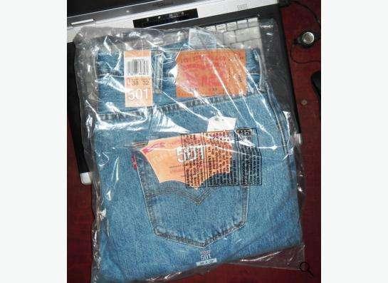 Оригинальные джинсы Levis 5XX в Москве Фото 2