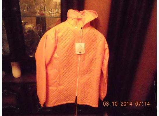 куртка оранжевая ветровка