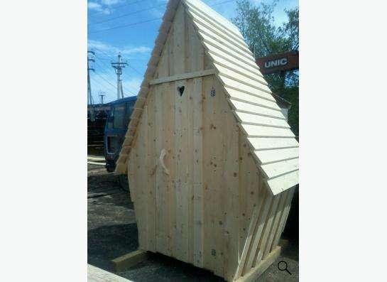 туалет деревянный в Кемерове Фото 1
