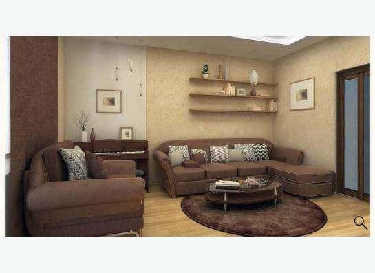 Дизайн интерьера под ключ + 25000 руб на мебель в подарок