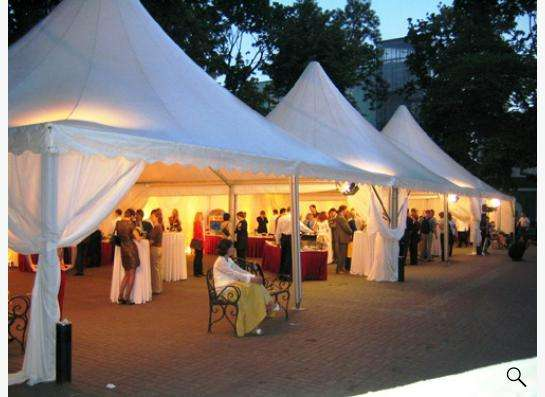 Свадьба в шатре в Москве Фото 1