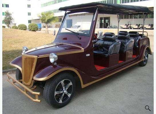 Электрические автомобили для гольфа и осмотра достопримечат в Москве Фото 3