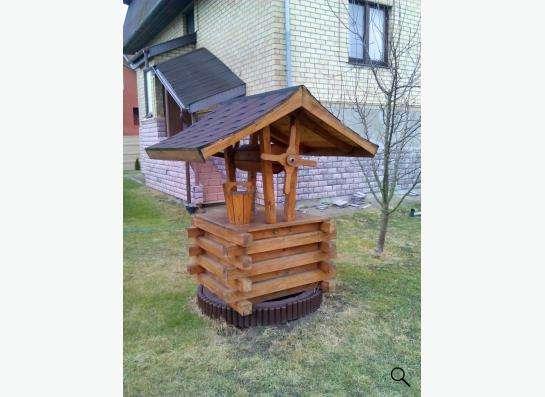 ландшафные изделия из дерева в Калининграде Фото 5