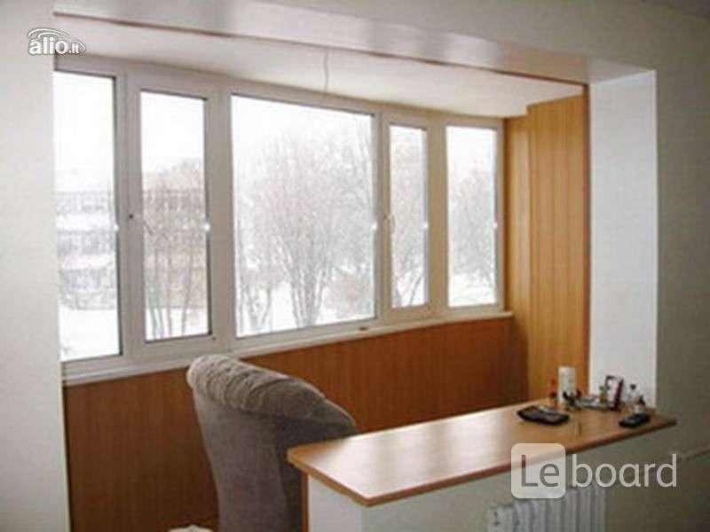 Присоединение остекленного в пол балкона с кухней. - принадл.